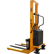 "Big Joe® M14-63 Battery Operated Power Lift Stacker 1430 Lb. Cap. 63"" Lift"