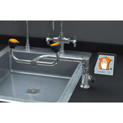 Guardian Equipment Eye/Face Wash, Deck Mounted, 90-Degree Swivel, Right Hand Mounting, G1806