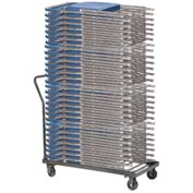 Chair Dolly For Folding Chairs - Horizontal Stack - 36 Chair Capacity