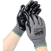PIP G-Tek® Nitrile Coated Nylon Grip Gloves, Medium, 12 Pairs/Dozen
