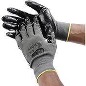 PIP G-Tek® Nitrile Coated Nylon Grip Gloves, Large, 12 Pairs/Dozen