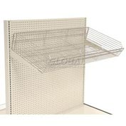 "Wire Basket with Brackets 48""W x 22""D"