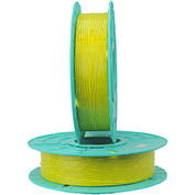Paper/Plastic Standard Twist Tie Ribbons, 30-2500, 2500'L Yellow