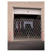 "Illinois Engineered Products SSG580 Single Folding Gate 4'W to 5'W and 7'6""H"