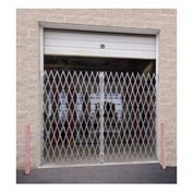 "Illinois Engineered Products PFG1480 Double Folding Gate 12'W to 14'W and 7'6""H"