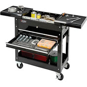 "Global™ Industrial 27"" 2-Drawer Tool Cart W/ Sliding Top"