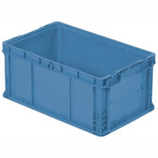 "ORBIS Stakpak NSO2415-11.5 Modular Straight Wall Container, 24""L x 15""W x 11-1/2""H, Blue"