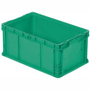 "ORBIS Stakpak NSO2415-11.5 Modular Straight Wall Container, 24""L x 15""W x 11-1/2""H, Green"
