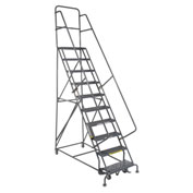 "CAL-OSHA KIT 10-12 Step Ladders - 24"" w Steps/20"" D Platform"