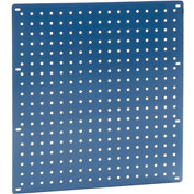 "Heavy Duty Steel Pegboard 18"" x 19"" Blue"