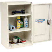 "Global™ Wall Storage Cabinet Assembled 19-7/8""W x 14-1/4""D x 32-3/4""H White"