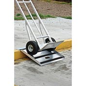 New Age 50172 Aluminum Curb & Threshold Ramp 750 Lb. Capacity