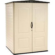 "Rubbermaid Medium Storage Shed FG5L2000SDONX, 4'4""W X 4'D X 6'H"