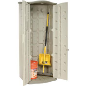"Rubbermaid Vertical Storage Shed FG374901OLVSS, 2'6""W X 2'1""D X 6'H"