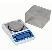 "Brecknell MBS Series Dietary Digital Scale 1200g x 0.02g 6-7/8"" x 6-7/8"" Platform"