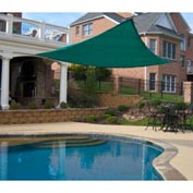 10' Triangle Green Sun Shade Sail