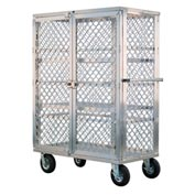 New Age 99475 Aluminum Amplimesh Security Cage Truck 49 x 26-3/4 x 68-3/4