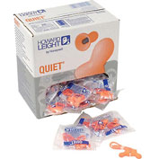 Quiet Multiple Use corded Earplug, 100 Pairs/Box