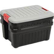 Rubbermaid 1172 ActionPacker Lockable Storage Box 24 Gallon