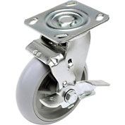 "Replacement 6"" Swivel Caster for Hotel Cart (Model 603575)"