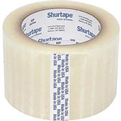 "Shurtape® HP 400 Carton Sealing Tape 3"" x 55 Yds. 2.5 Mil Clear - Pkg Qty 24"
