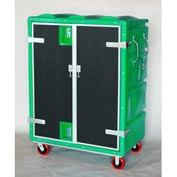 Myton RTC-5829H6 46 Cu. Ft. Green Plastic Security Transfer Truck 950 Lb. Cap.