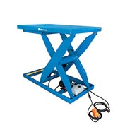 Bishamon® OPTIMUS Lift5K Power Scissor Lift Table 56x32 5000 Lb. Cap. Hand Control L5K-3256