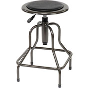 Vinyl Industrial Stool - Pneumatic Height Adjustment