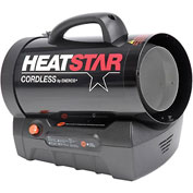 HeatStar Propane Fired Cordless Heater HS35CLP - 35000 BTU