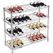 "Wine Bottle Rack - 36 Bottle 36"" x 14"" x 34"""