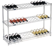 "Wine Bottle Rack - 39 Bottle 48"" x 14"" x 34"""
