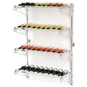 "Wine Bottle Rack - Wall Mount 36 Bottle 36"" x 14"" x 54"""