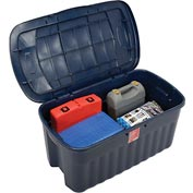 United Solutions 2547 Roughneck Jumbo Storage Tote 40 Gallon Gray