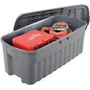 United Solutions 2550 Roughneck Jumbo Tote 50 Gallon Gray - Pkg Qty 4