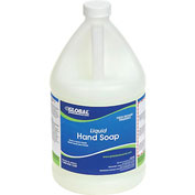 Global® Liquid Hand Soap - Case Of Four 1 Gallon Bottles