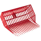 Little Giant DuraPitch 2 Stall Fork Head DP201RED, Polycarbonate Nylon, Red