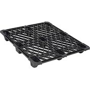 Nestable Shipping Plastic Pallet 48x40 2200 Lb. Capacity