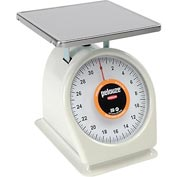 Rubbermaid Pelouze FG832WQ Dial Portion Control Scale Enamel Finish 2lb x 0.125lb