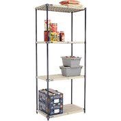 Vented Plastic Shelving 36x21x86 Nexelon Finish