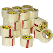 "3M™ 3071 Carton Sealing Tape for Recycled Boxes 3"" x 110 Yds. 2.1 Mil Clear - Pkg Qty 24"