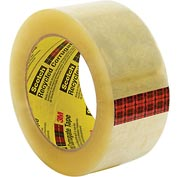 "3M™ Scotch® 3072 Recycled Corrugated Box Sealing Tape 2"" x 110 Yds. 2.3 Mil Clear - Pkg Qty 36"