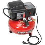 Porter Cable PCFP02003, 3.5-Gal. 135 PSI Oil-Free Pancake Compressor