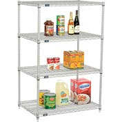 "Nexelate Wire Shelving 36""W x 24""D x 54""H"