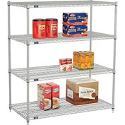 "Nexelate Wire Shelving 48""W x 24""D x 54""H"