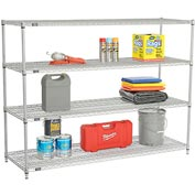 "Nexelate Wire Shelving 72""W x 24""D x 54""H"
