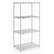 "Nexelate Wire Shelving 36""W x 24""D x 86""H"