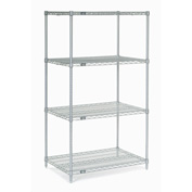 "Nexelate Wire Shelving 48""W x 24""D x 86""H"