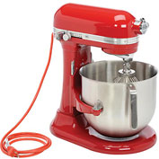 KitchenAid® Commercial 8 Qt. Bowl Mixer Empire Red - KSM8990ER
