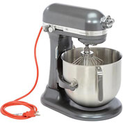 KitchenAid® KSM8990DP Commercial 8 Qt. Bowl Mixer, Dark Pewter