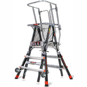 Little Giant® Aerial Safety Cage 3'-5' W/ Click Casters - 18503-240